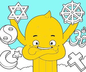 kolorowanki Religia