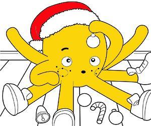 kolorowanki Boże Narodzenie - Świąteczne