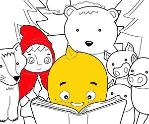 kolorowanki Opowiadania dla dzieci