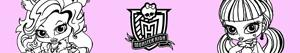 kolorowanki Monster High Baby