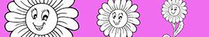 kolorowanki Kwiat