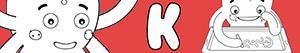 kolorowanki Imiona dla Chłopców na litere K