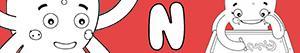 kolorowanki Imiona dla Dziewczynek na litere N