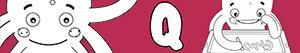 kolorowanki Imiona dla Chłopców na litere Q