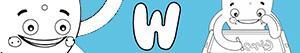 kolorowanki Imiona dla Chłopców na litere W
